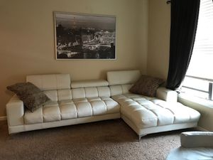 Photo White Sofa from Rooms To Go