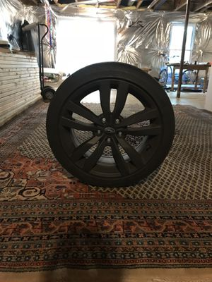 2017 Subaru wrx premium OEM wheels with tires for Sale in Ashburn, VA