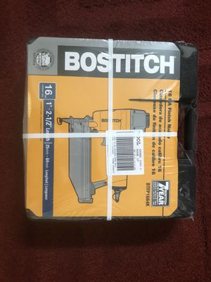 Bostich 16-Gauge Finish Nail Gun - BRAND NEW for Sale in Kissimmee, FL