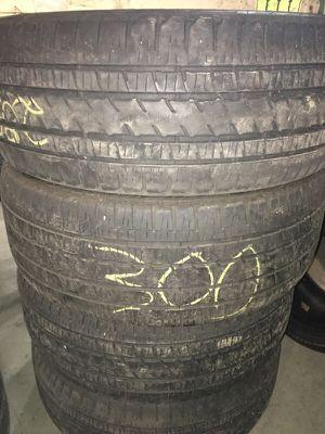 285/45/22 used tires for Sale in Boston, MA