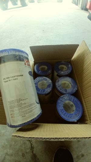 6 type 3 pool/spa filters for Sale in GRANT VLKRIA, FL