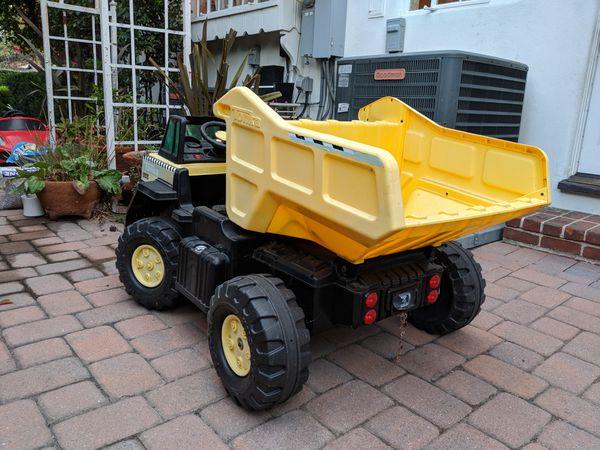 Tonka Mighty Dump Truck 12 Volt Battery Ed Ride On