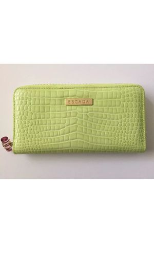 ESCADA Hand Purse - Green Leather Made In Italy for Sale in West Springfield, VA