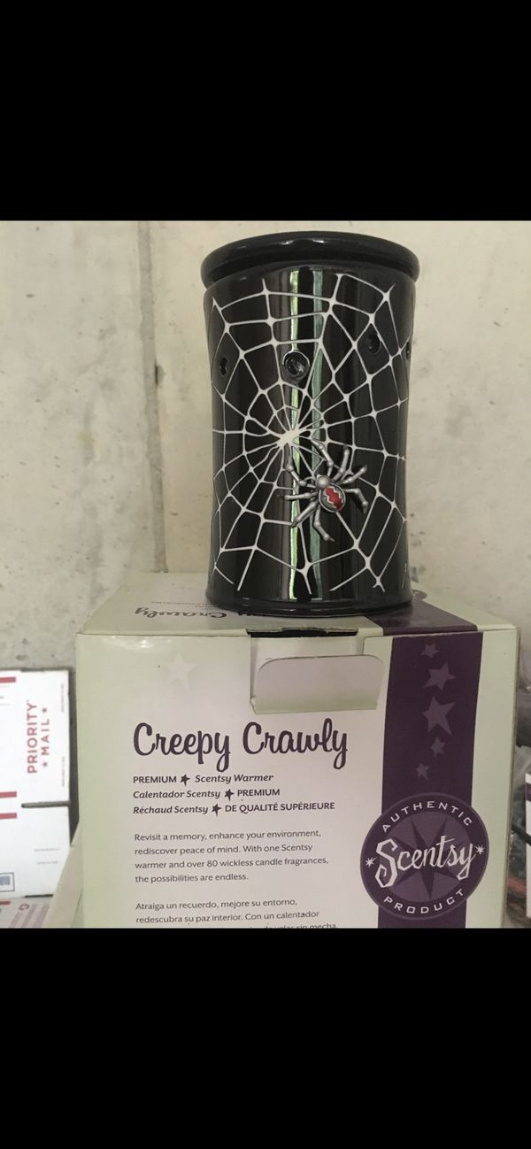 Scentsy Warmer Creepy Crawly Halloween Spider Web For Sale In