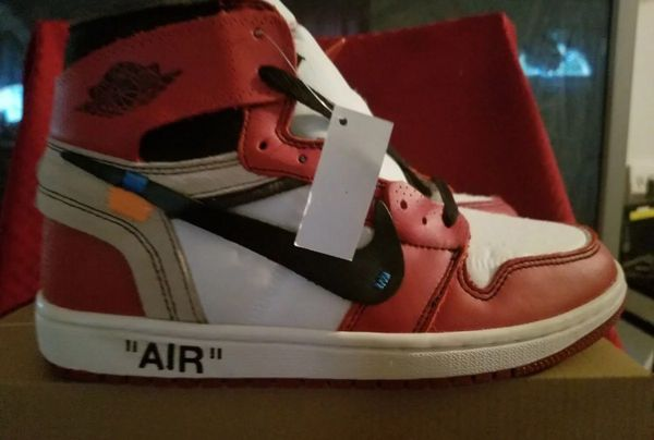 6968338d820aa Off-White x Nike Air Jordan 1s size 8 AUTHENTIC (Clothing   Shoes) in Costa  Mesa