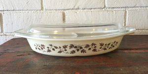 Vintage Pyrex Divided Dish for Sale in Raleigh, NC