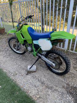 1989 Kawasaki  KDX200 Thumbnail