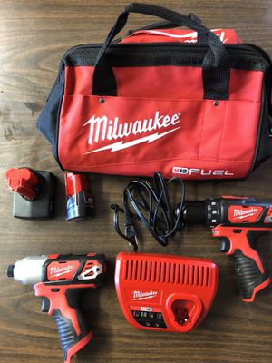 Milwaukee drill and impact drill for Sale in Union Park, FL