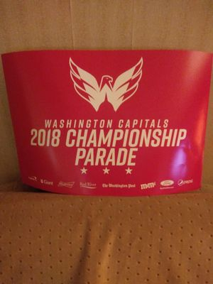 Caps parade poster excellent condition for Sale in Falls Church, VA