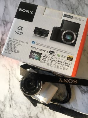 Sony Alpha a5100 camera - barely used for Sale in Bowie, MD