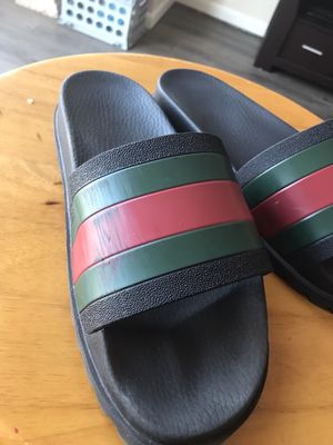 6f1ceb3cc647 Gucci flip flops Sz 11 for Sale in Dayton