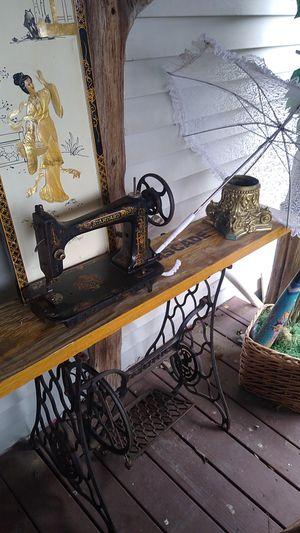 Photo Old American standard sewing machine