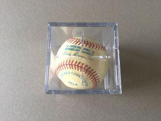 Rick Sutcliffe Signed Baseball Thumbnail