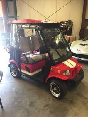 6 volt golf cart & RV and 12 volt batteries for Sale in ... Gas on
