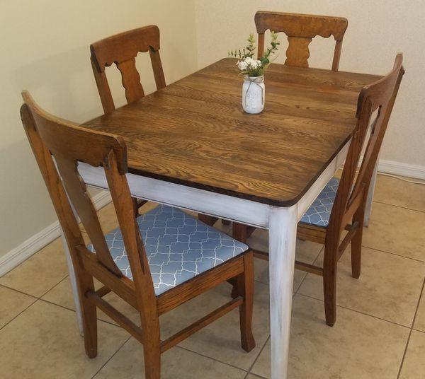 Vintage Farmhouse Table Chairs Merritt Island Fl