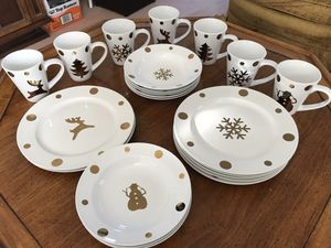 Christmas Dish Set for Sale in Gaithersburg, MD