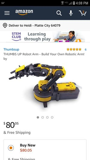 Build Your Own Mechanical Robot Arm for Sale in Platte City, MO - OfferUp