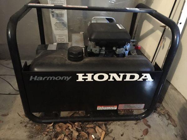 Honda Harmony En2500 Generator