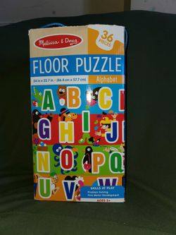 Kids Mat,puzzle and wooden blocks Thumbnail
