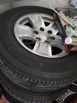 Photo Brand new rims for Chevy Silverado