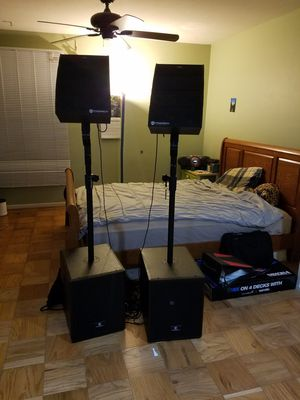 DJ equipment for sale for Sale in Annandale, VA