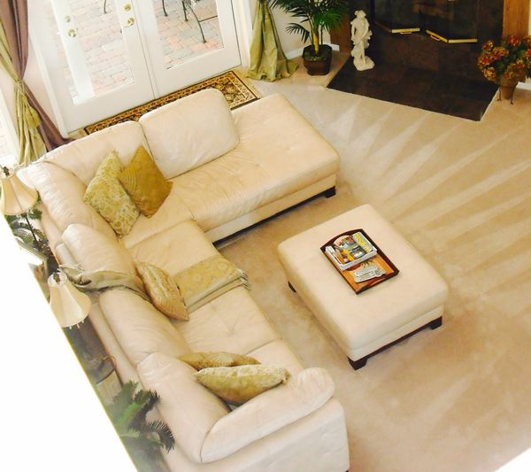 Quality Leather L Shaped Sofa And Ottoman For Sale In Aliso Viejo Ca