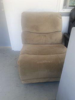 Light Brown Corner Sofa (2 pieces) Thumbnail