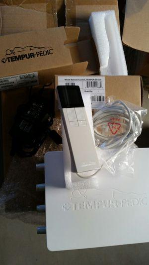 NEW Tempur-Pedic TEMPUR-Choice Mattress Pump Assembly Kit w//2 Remotes