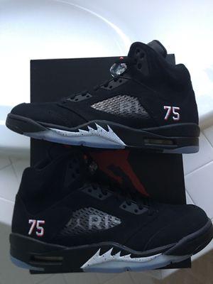 """Jordan 5 PSG """"Paris Saint Germain"""" DS Size 8.5/9.5 BLACK Mint Condition for Sale in South Riding, VA"""