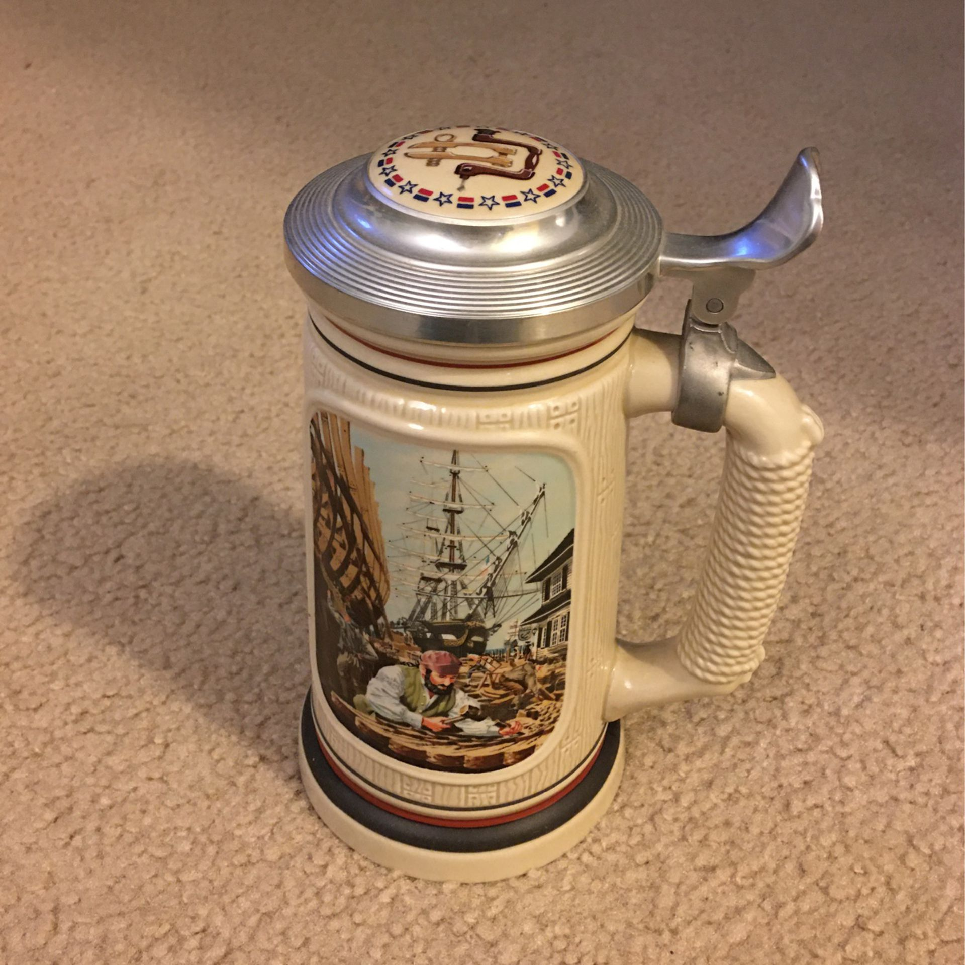 1986 The Building Of America Stein