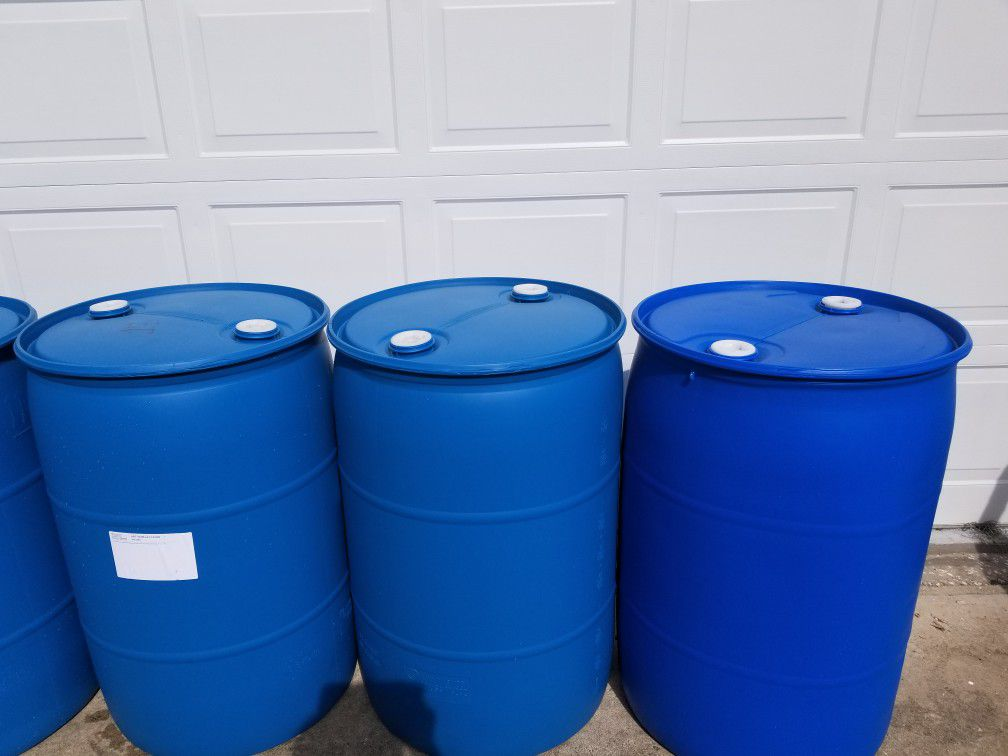 55 Gallon Barrels FOOD GRADE (PRICE IS FIRM)