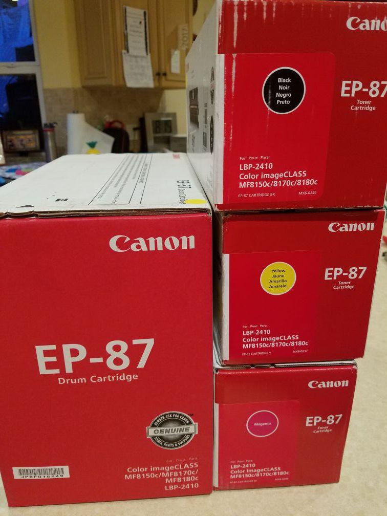 Ep-87 Canon toner and cartridge