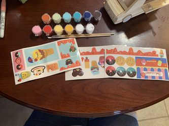 Wooden decorate your own ice cream truck Thumbnail