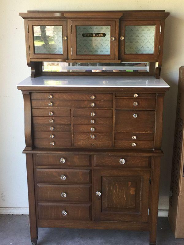 Antique Dental Cabinet - Antique Dental Cabinet For Sale In Gilbert, AZ - OfferUp