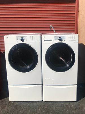 Kenmore Electric Washer And Dryer Set 3 Months Warranty Delivery Installation For In San
