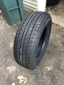 Th 265/70r17. All weather tire $85 each Thumbnail