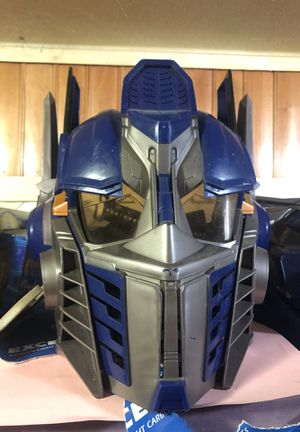 Transformers geeky mask with voice cool toy boys collectible awesome for Sale in Phoenix, AZ