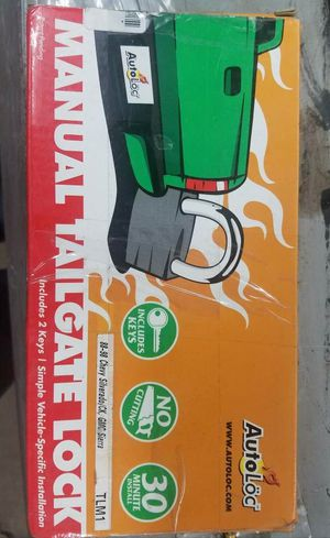 Autoloc Manual Tailgate Lock 1988-2000 Chevy Truck for Sale in TN, US