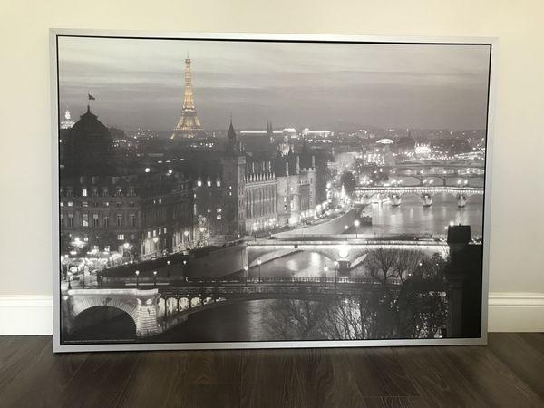 Ikea Paris Eiffel Tower Cityscape Wall Art For Sale In Plantation