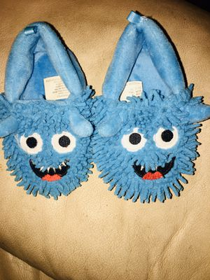 Photo Cookie Monster Slippers