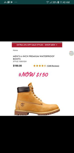 Original TIMBERLAND BRAND NEW!!! for Sale in Las Vegas, NV