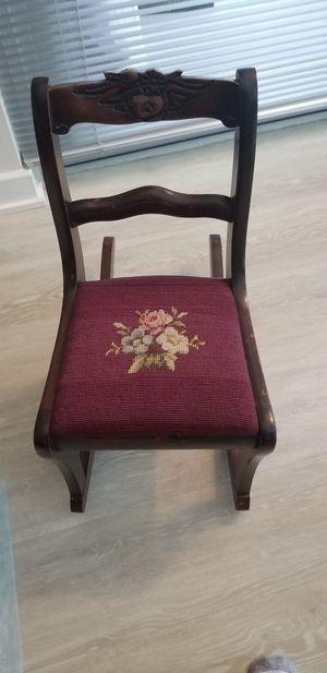 1940s-50s Childs Rocking Chair Upholstered for Sale in Washington, DC