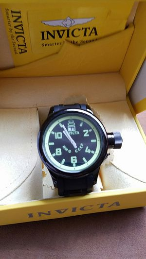 Invicta Russian 1959 diver black watch for Sale in Scottsdale, AZ