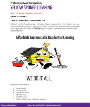 House cleaning for Sale in Hyattsville, MD