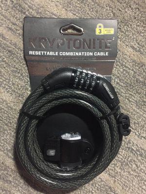 Photo Kryptonite resettable combination cable lock