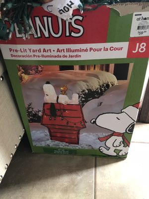 Christmas decoration Pre lit for Sale in Dallas, TX