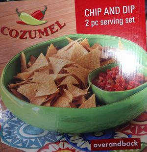 Chip and dip 2 pc serving set for Sale in Salt Lake City, UT