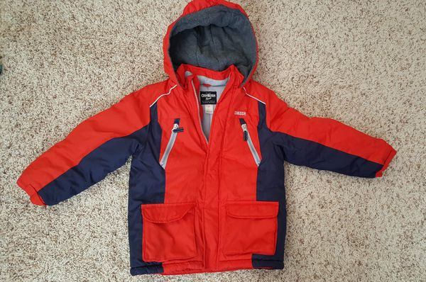d1386d693861 Oshkosh B gosh boy winter coat red blue L 7 for Sale in Omaha