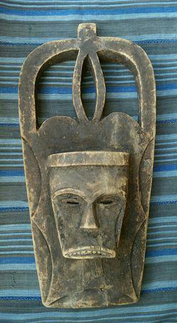 Traditional African Art - Eket Mask Thumbnail