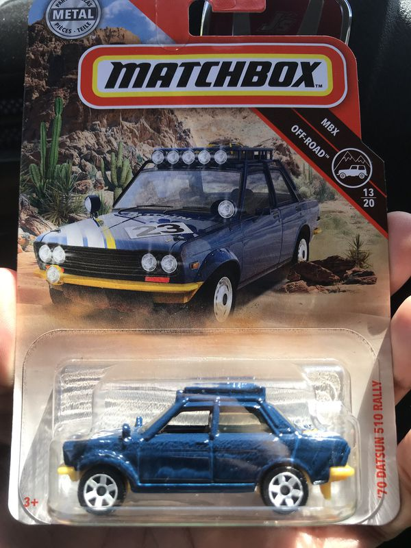 Matchbox Datsun 510 Rally for Sale in Rancho Cucamonga, CA - OfferUp